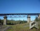Антикоррозийная защита железнодорожного моста (75 км река Далдыкан)