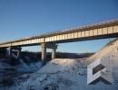 Автомобильный мост через реку Ямная