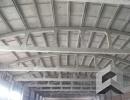 Пескоструйная очистка ферм и плит потолка нежилого здания (завод THERMIT)