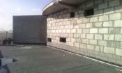 """Покраска стен вертолетной площадки на """"Башне"""""""