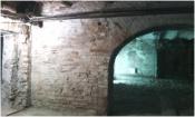 Очистка поверхности стен особого здания