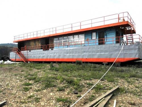 Абразивоструйная очистка поверхности судна